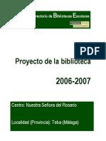 Proyecto BE Nuestra Señora del Rosario Malaga Andalucia