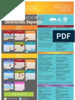 Calendario 2014 Superior