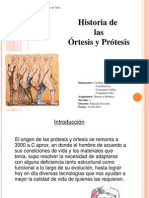 Historia de Ortesis y Protesis 2.0