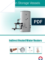 Indirect Heated Water Heaters