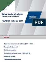 BANCARIZAÇÃO - III Congresso Latino Americano de bancarização e Microfinanças - FELABAN - JUNHO 2011 - FINAL