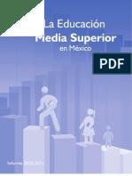 La Educacion Media Superior en Mexico 2011