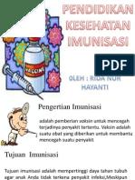 Power Point Imunisasi