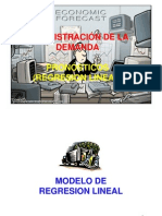 6. Pronósticos - Regresión lineal
