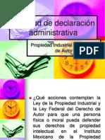 Solicitud d declaración administrativa