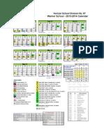 download warner 1to12 calendar