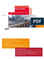 Changing the Game Outlook for the Global Sports Market to 2015