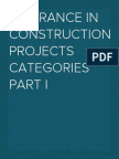 Insurance in Construction Projects 