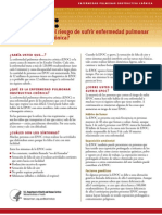 Fact Sheet-copd-Are You at Risk Spanish