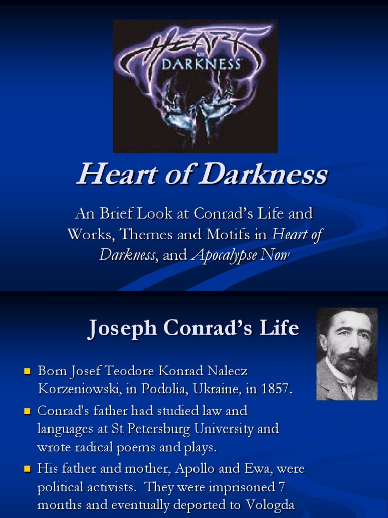 imperialism in the heart of darkness by joseph conrad