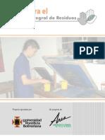 Manejo Integral de Residuos - Subsector de Litografia