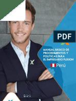 Manual Basico de Procedimientos y Politicas Peru