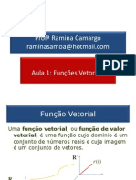 Aula01-Funções Vetoriais