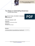 Ten Steps to Cold Calling Greatness