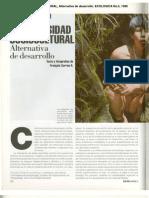 Biodiversidad Sociocultural_alternativa de Desarrollo