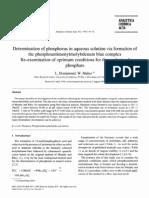 1995 Drummond Maher Determination of Phosphorus