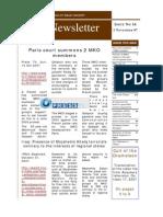 Nejat Newsletter - ISSUE 16