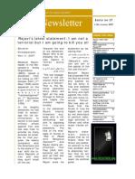 Nejat Newsletter - ISSUE 17