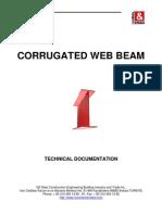 Corrugated Web Beam