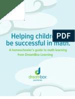 Helping Children Be Successful in Math