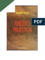 América Profunda - Rodolfo Kusch