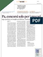 Rassegna Stampa 23.08.2013