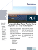 R Ibersystem - Photovoltaic Solar Power Plant systems integration and solar tracker control