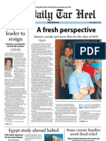 The Daily Tar Heel for August 23, 2013