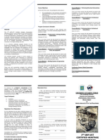 5 BROCHURE - 3rd Certified Heritage Building Conservation Specialist Course FEB 2014v1