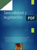 Sexualidad y Legislacion