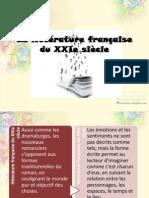 La littérature française du XXIe siècle