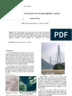 A Criticial Analysis of Tatara Bridge, Japan