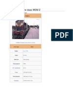 Indian Locomotive Class WDM