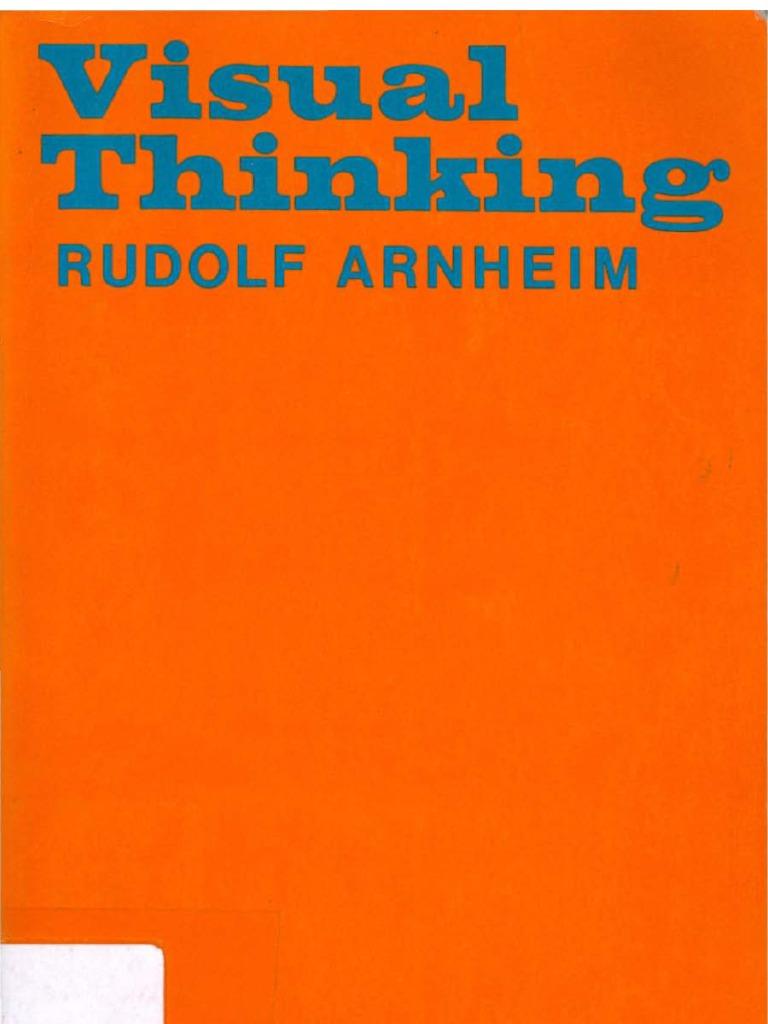 Visual Thinking Arnheim Pdf Download
