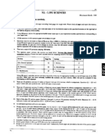GATE Life Sciences Question Paper 2010
