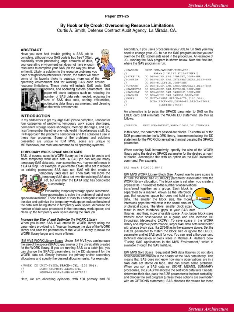 25p291 pdf | Sas (Software) | Library (Computing)