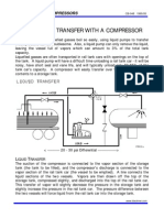 Gas Transfer With Compressor