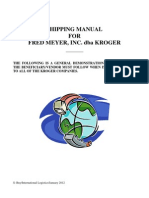 Import Shipping Manual