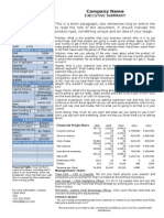 Pollenizer Executive Summary Template May 09
