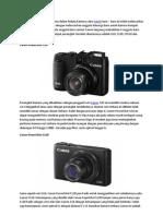 4 Anggota Terbaru Keluarga Kamera Kompak Premium Canon