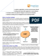 AssetGen SysMap Datasheet