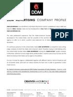 DDM_CP 2011Company Profile
