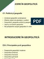 Introducere in Geopolitica