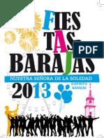 Barajas - Fiestas 2013 Programa a5. Final
