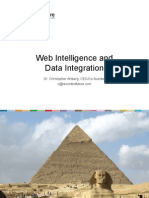 Web Intelligence and Data Integration Dr. Christopher Ahlberg, CEO/Co- founder c@recordedfuture.com
