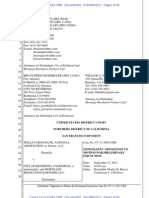 Defendants' Opposition to Motion for Preliminary Injunction, Wells Fargo Bank, Nat'l Ass'n v. City of Richmond, No. CV-13-3663-CRB (Aug. 22, 2013)