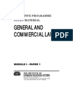General and Commercial laws-Unlocked