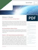 FortiGuard Midyear Threat Report 2013