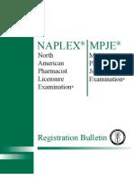 Naplex-mpje Bulletin 070113
