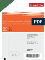 Instructiuni Pentru Instalare Si Intretinere Centrala Ariston Bis 24ff Kit Evacuare 2007145